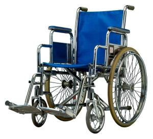 Wheelchair photo - MS