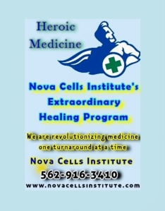 SKY BLUE E-BOOK COVER FOR HEROIC MEDICINE
